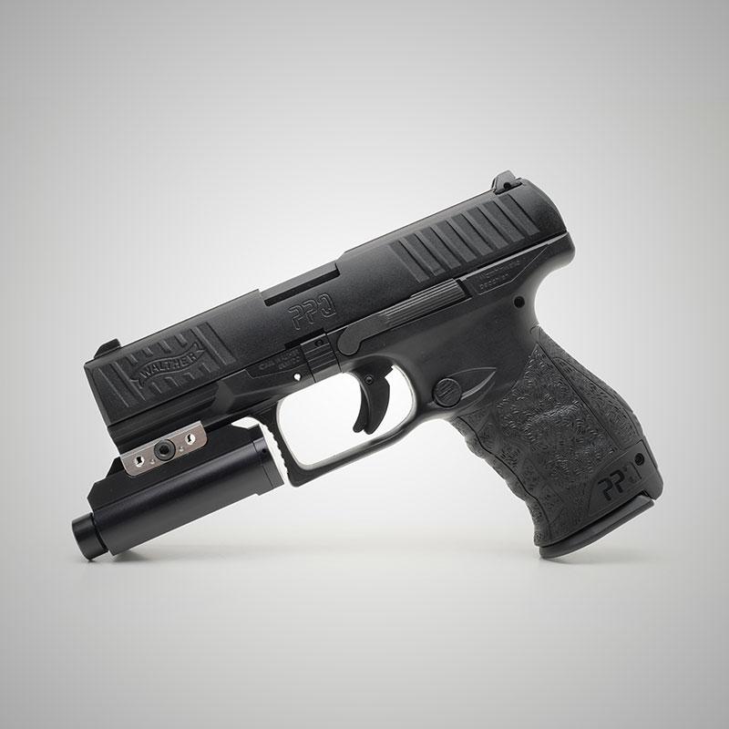 La unidad láser para pistolas SIMGUN